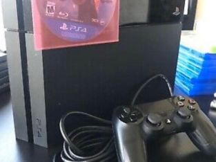 ps I got my son the new PS4 pro so I'm making him give away his old one. Please message me if you are serious about taking it and leave your cell number so I can pass it too him. I will forward it to him and you can discuss shipping with him which you will have to pay for as he is in Florida. Please only contact if you are seriously interested.