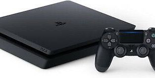 Sony PlayStation 4 (PS4) Slim 1tb Jet Black Console w/ accessories!  LIMITED QTY