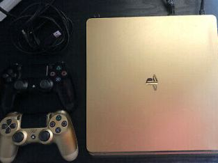 Sony Playstation 4 PS4 500 GB Slim – Black Console Only