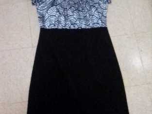 REDUCED!!! $$$ AGAIN!! $$ Classy leg tight Black dress!