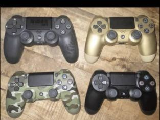 PS4 pro with 4 controllers