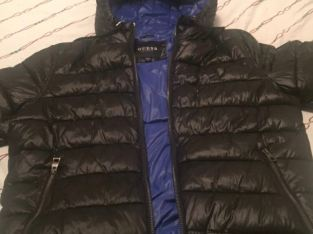 men's guess bubble jacket