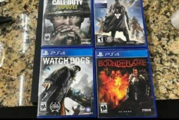 My name is Rev Jenkins ,I just bought a new PS4 pro for my son as a birthday gift and am giving this out. Am not active on my 5mile and am a busy person just message me directly from my number if you are interested 843*****631*****6244*******