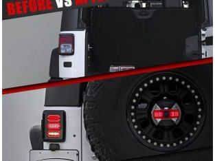 Jeep Wrangler JK LED taillights