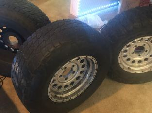 All terrains tires nitto