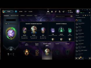 League Of Legends Riven OTP with 1.380.000 mastery point