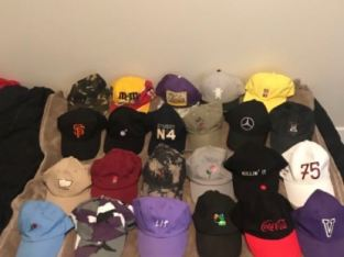 hats lot all for 65$