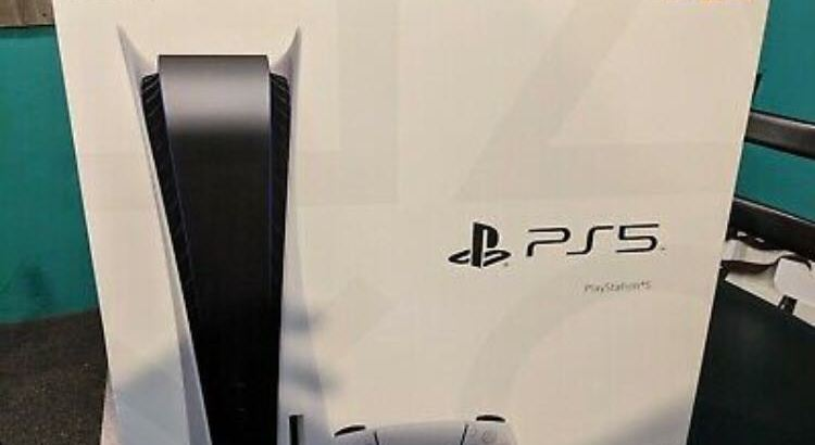 Sony Playstation 5 PS5 Console Disc Version