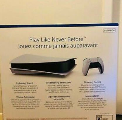 playstation 5 with controller and games