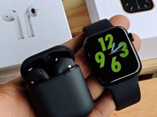 Smart iwatch series 6 44mm Nike Limited Edition with an iPod