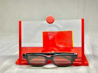 Video Amplifier with free vintage 3D movie glasses