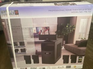 BnD Acoustic Home Theater System Model # TS-10