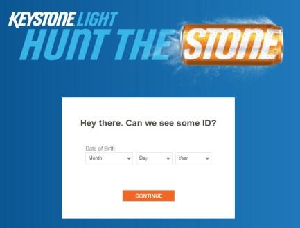 Digital Beer Keystone Light