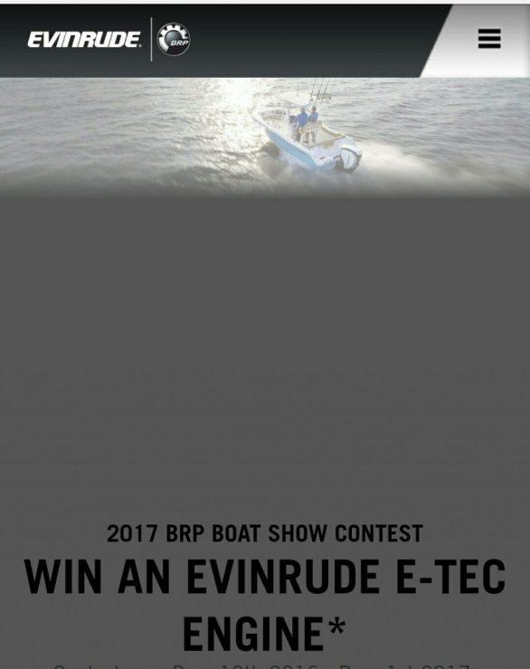 Evinrude Sweepstakes