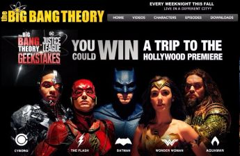 Big Bang Theory Sweepstakes