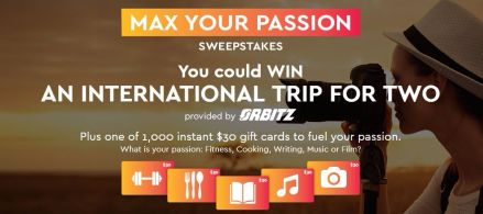 Passion Sweepstakes