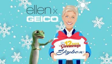 Ellen 12 Days Giveaway