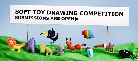 Ikea Soft Toy Drawing Competition