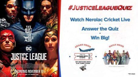 Justice League Quiz Contest