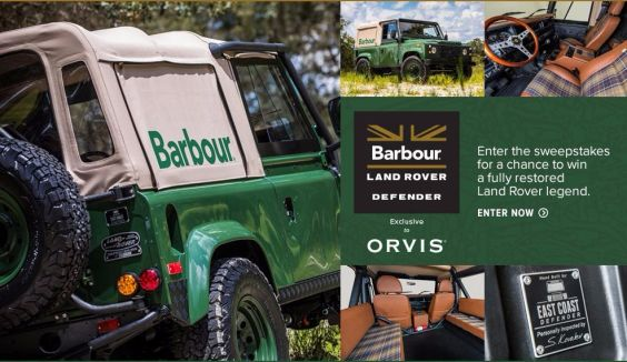 Orvis Barbour Defender Sweepstakes