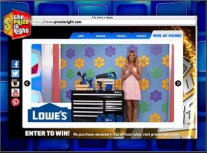 price is right giveaway priceisright giveaway chance to win lowe s 100 gift card 8066