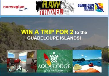 Raw Travel Guadeloupe Giveaway