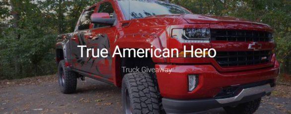 True American Hero Truck Giveaway