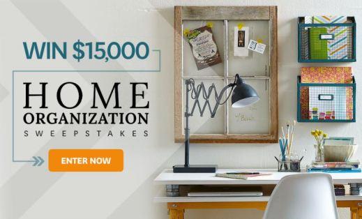 BHG $15000 Home Organization Sweepstakes