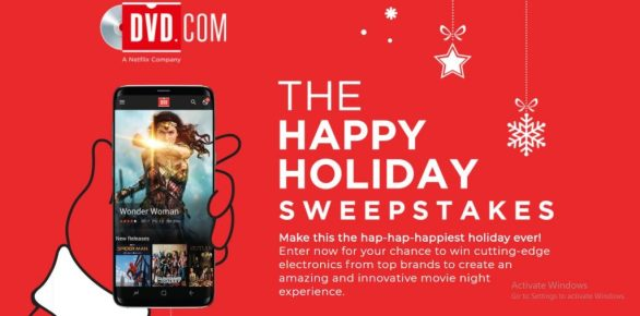 DVD.com Happy Holidays Sweepstakes
