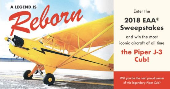 EAA 2018 Aircraft Sweepstakes
