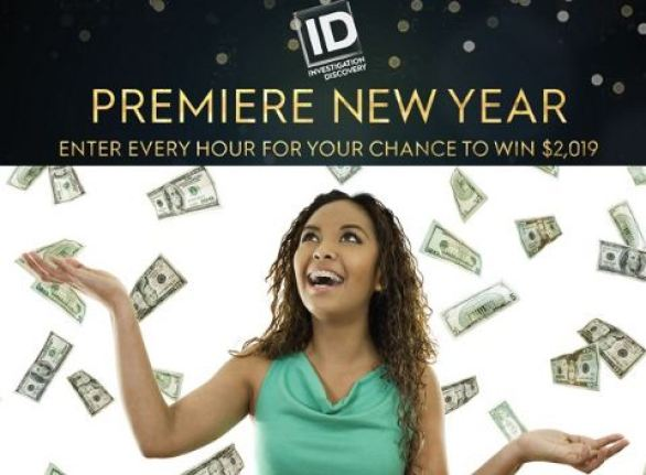 Investigation Discovery Premiere New Year Sweepstakes