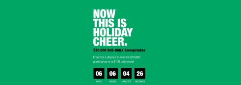 Macerich Holi-DAILY Sweepstakes