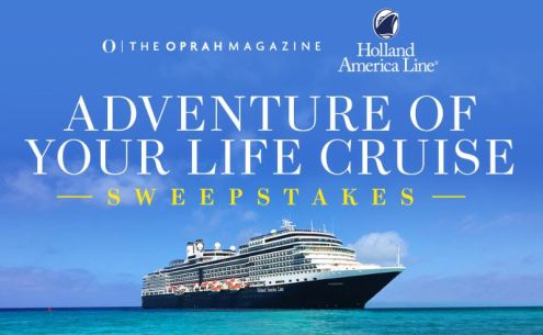 Adventure of Your Life Cruise Sweepstakes