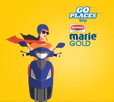Britannia Marie Gold Go Places Contest