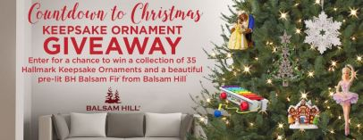 Hallmark Channel's Keepsake Ornament Giveaway