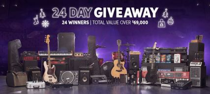 Sweetwater Monthly Gear 24 Days Giveaway