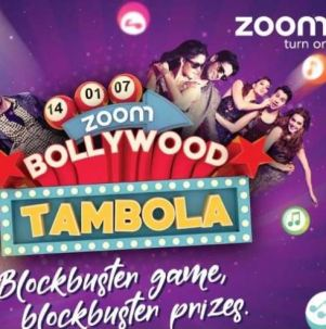 Zoom TV Bollywood Tambola Contest