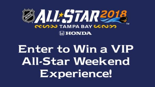 NHL All-Star VIP Sweepstakes