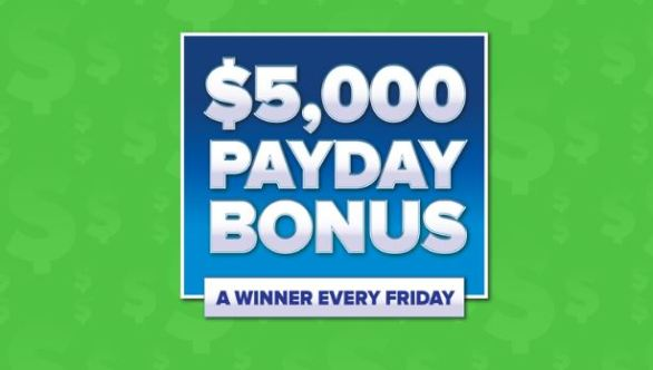 $5000 Payday Bonus Sweepstakes