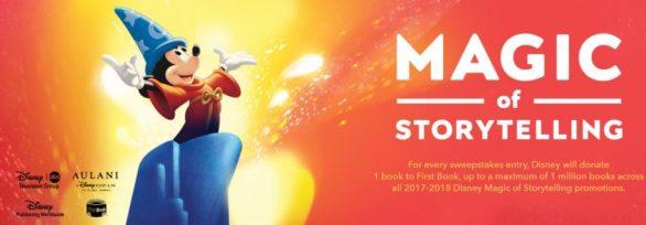 Disney Magic of Storytelling Sweepstakes