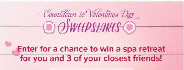 Hallmark Channel Countdown to Valentine Day Sweepstakes
