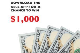 KS95 App Exclusive Reward $1000 Sweepstakes