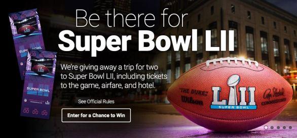 SiriusXM's Super Bowl LII Sweepstakes