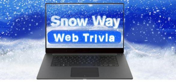 Snow Way Web Trivia Sweepstakes