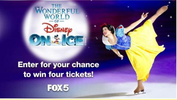 WAGA FOX 5 Atlanta Disney on Ice Contest