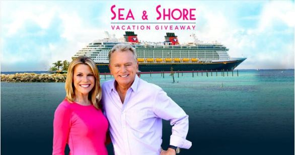 Wheel Of Fortune Disney Sea & Shore Vacation Sweepstakes
