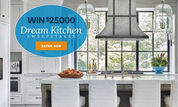 BHG $25,000 Dream Kitchen Sweepstakes