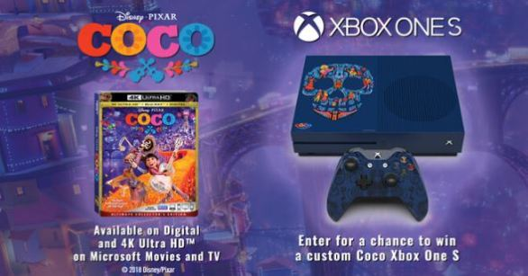 Coco Custom Console Sweepstakes