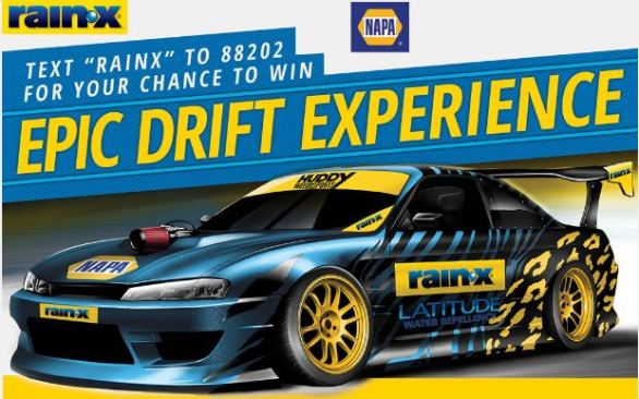 Drift Experience Sweepstakes