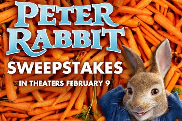 MovieTickets Peter Rabbit Sweepstakes